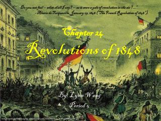 Chapter 24 Revolutions  of 1848