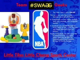 Little Tikes Little Champ Sports Center
