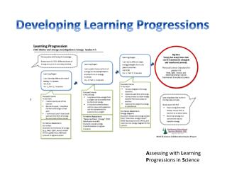 Developing Learning Progressions