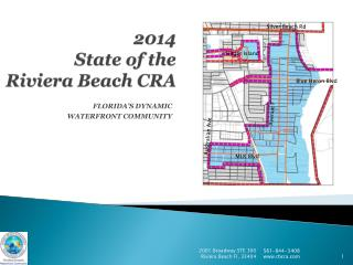 2014  State  of the  Riviera Beach CRA