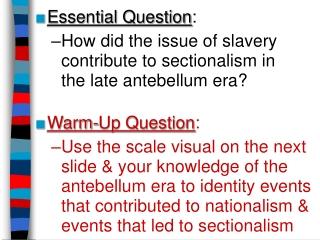 Antebellum Reform 1820   1860