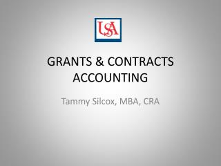 GRANTS & CONTRACTS ACCOUNTING