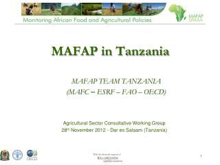 MAFAP in Tanzania