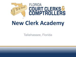 New Clerk Academy