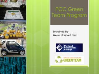 PCC Green Team Program