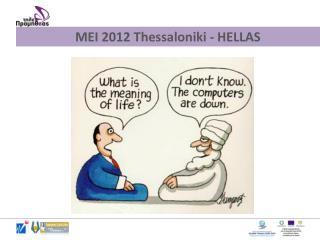 MEI 2012 Thessaloniki - HELLAS