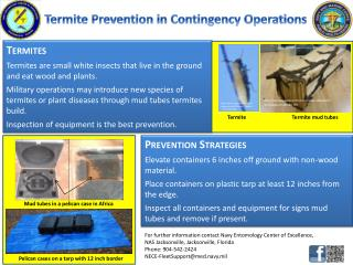 Termite Prevention in Contingency Operations