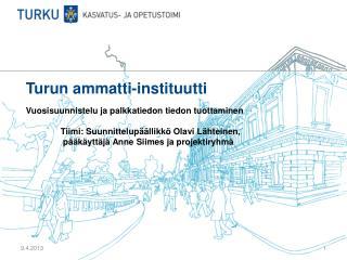 Turun ammatti-instituutti