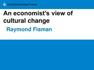 Raymond Fisman