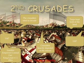 2 nd  crusades
