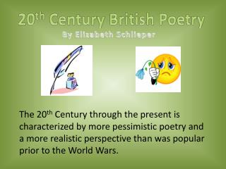 20 th  Century British Poetry