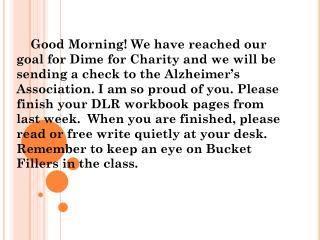 week of September 24