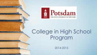 College in High  School Program