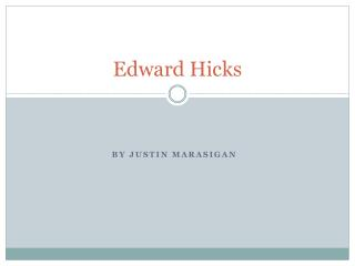 Edward Hicks