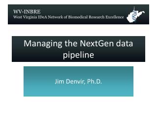 Managing the  NextGen  data pipeline