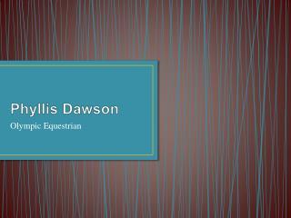 Phyllis Dawson