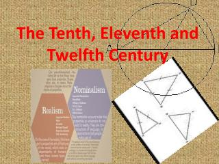 The Tenth, Eleventh and Twelfth Century