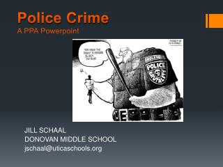 Police Crime A PPA  Powerpoint