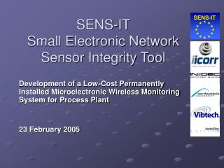 SENS-IT Small Electronic Network Sensor Integrity Tool
