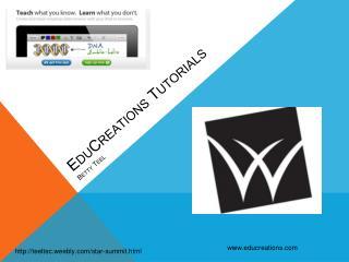 EduCreations Tutorials