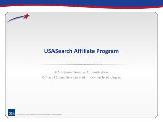 USASearch Affiliate Program