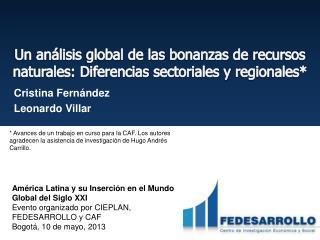 Cristina Fernández Leonardo Villar