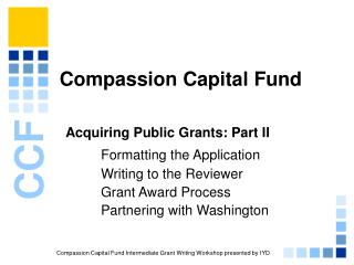 Compassion Capital Fund