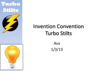 Invention Convention Turbo Stilts