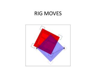 RIG MOVES