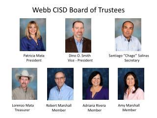 Webb CISD Board of Trustees