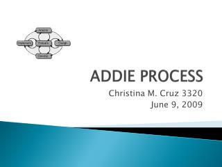 ADDIE PROCESS
