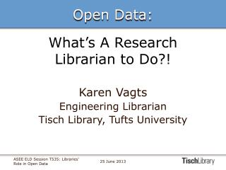 What's A Research Librarian to Do?!