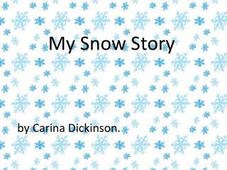 My Snow Story