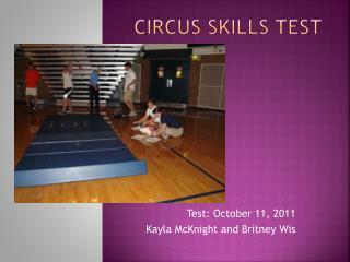 Circus Skills Test