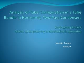 Jennifer Tansey 10/20 /11