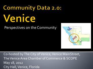 Community Data 2.0:   Venice
