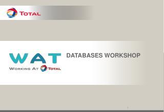 Databases  Workshop