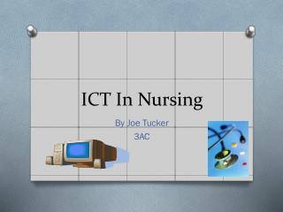 ICT In Nursing