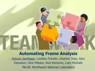 Automating Frame Analysis Antonio Sanfilippo, Lyndsey Franklin, Stephen Tratz, Gary Danielson, Nick Mileson, Rick Riensc