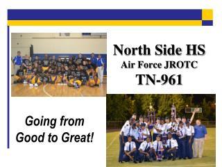 North Side HS Air Force JROTC TN-961