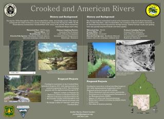 Crooked and American Rivers