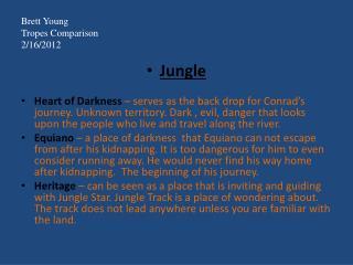 Brett Young Tropes Comparison 2/16/2012