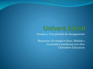 Univers Social