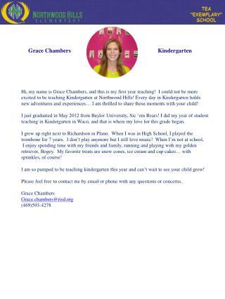 Grace Chambers
