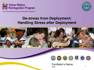 De-stress from Deployment:   Handling Stress after Deployment