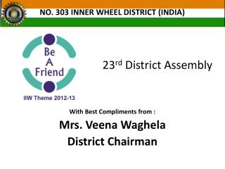 23 rd  District Assembly