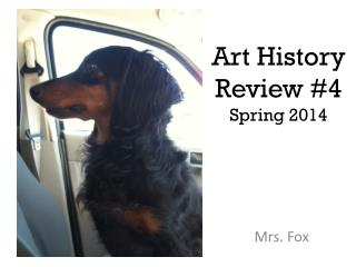 Art History Review #4 Spring 2014