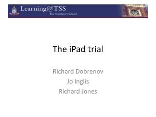 The  iPad  trial