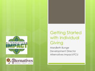 Getting Started with Individual Giving