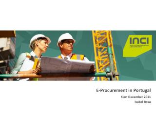 E-Procurement in  Portugal